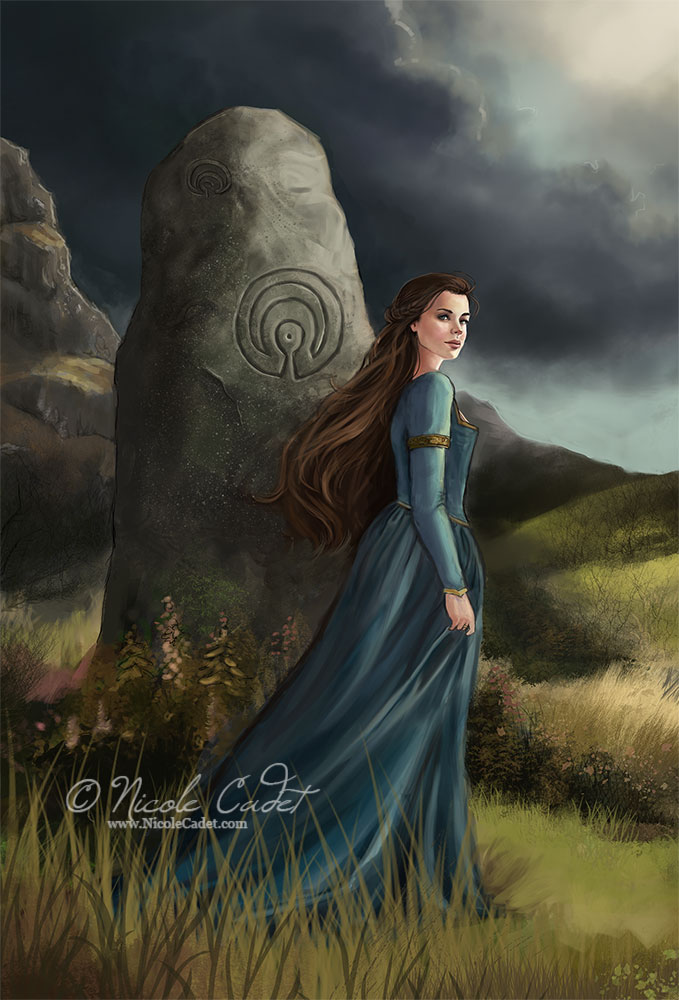 Wind through the stones (cropped version) by NicoleCadet
