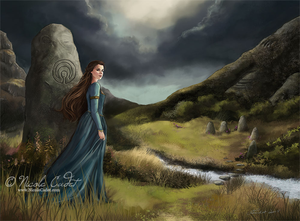 Wind through the stones by NicoleCadet