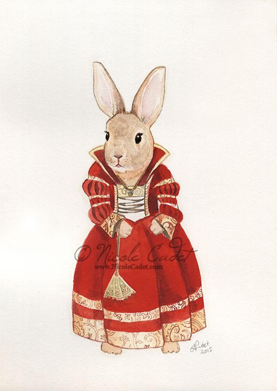 Cranach Bunny by NicoleCadet