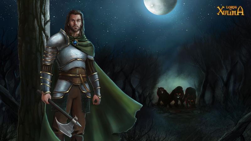 Lords of Xulima Adventurer Gaulen wallpaper by NicoleCadet