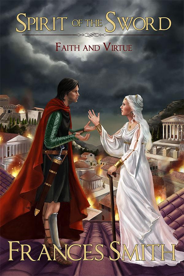 Spirit of the sword 2 - cover design by NicoleCadet