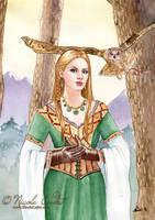 Owl Maiden by NicoleCadet