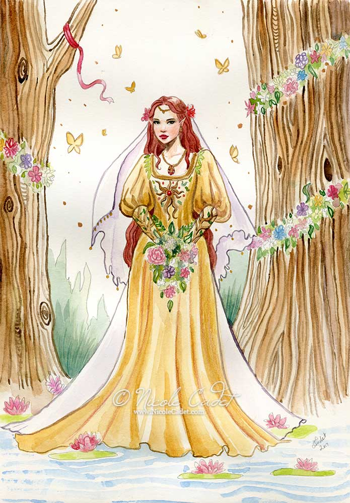 Elven Bride by NicoleCadet