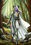 Ria - Forgotten Realms DnD tiefling paladin