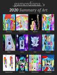 My 2020 Art Summy