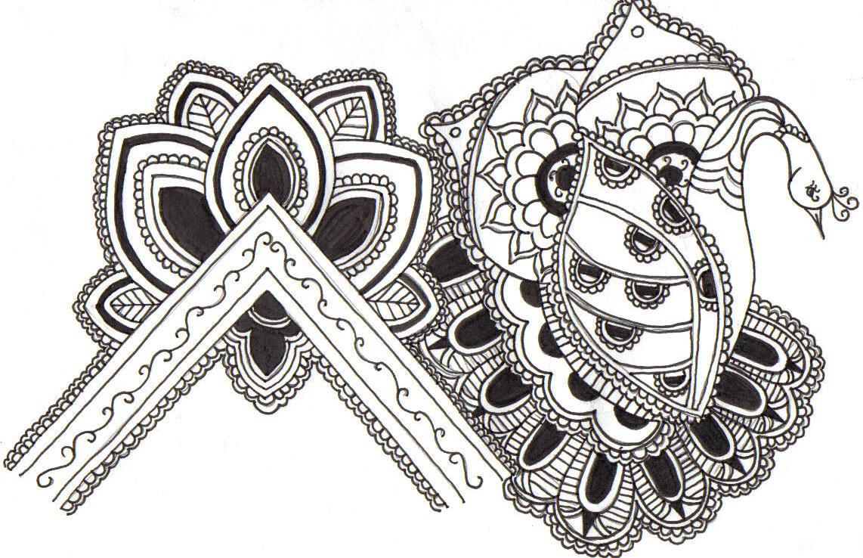 Mehndi Patterns Drawings : Mehndi designs by dizzymisslizziey on deviantart