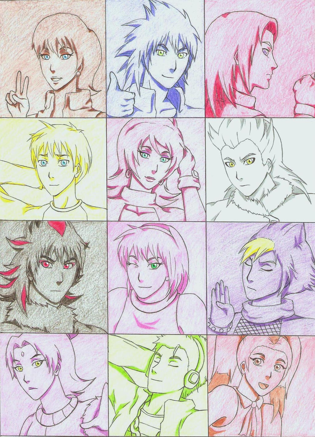 Sonic Anime Characters : Sonic characters human ver by rouge on deviantart