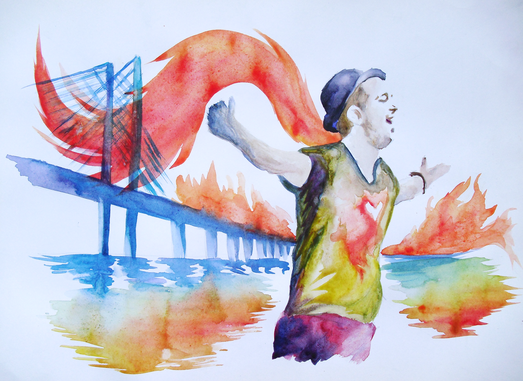 Burning Bridges OneRepublic by Alexandra96Kazak on DeviantArt
