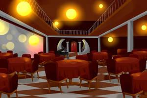 Cafe Background 2 by DerpInc
