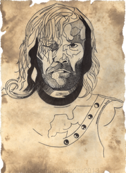 The Hound by Middernachtlopper