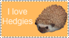 I love Hedgies stamp by MaiMaiYay