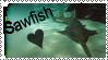 Sawfish stamp