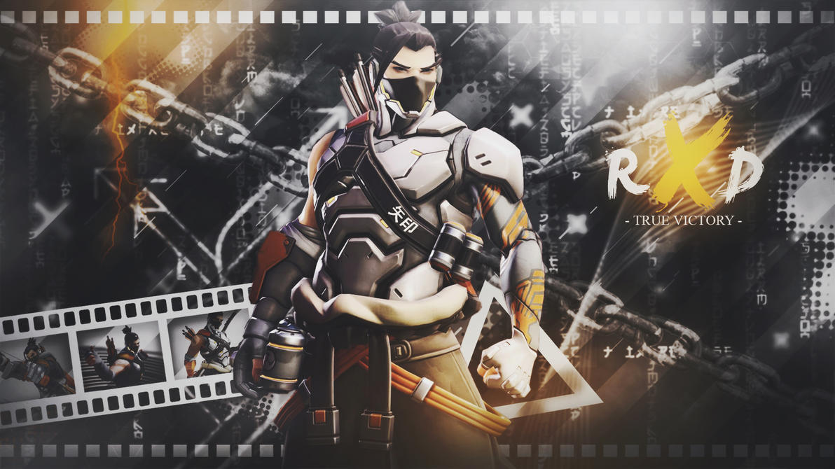 overwatch] - hanzo wallpapermarv-47 on deviantart