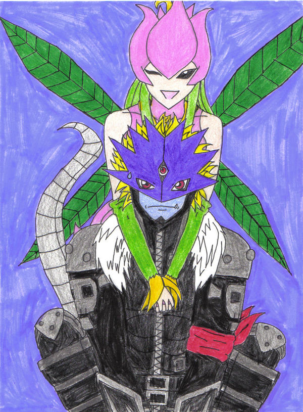Beelzemon and Lillymon by VampirePrincess13 on DeviantArt