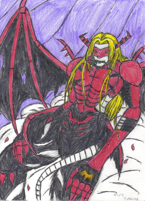 Why I like VenomMyotismon? by VampirePrincess13