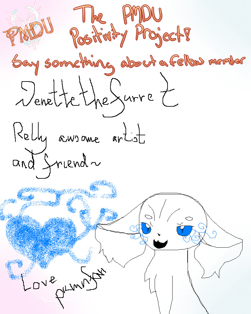 PMDU Positivity Project Meme Venette The Furret By