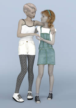 Leela and Tracey