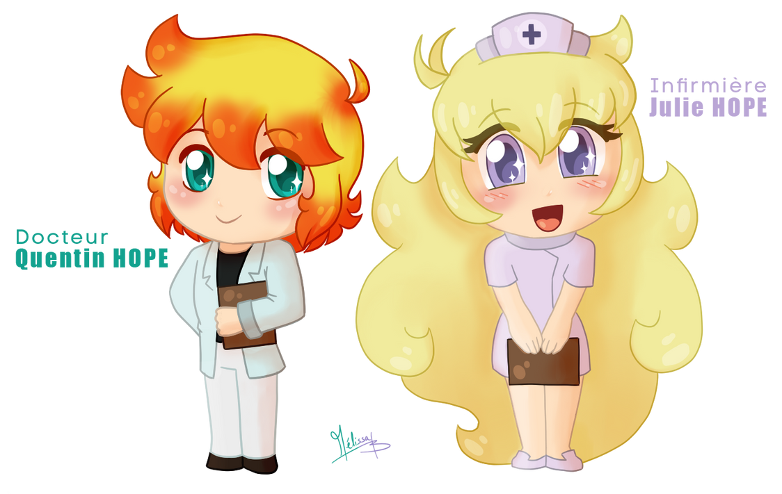 Heal them with cuteness~