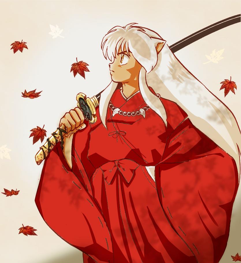Inuyasha By Animegirl151 On Deviantart: Inuyasha Portait By Violet-kikyo On DeviantArt