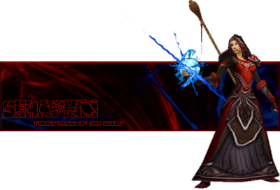 World of Warcraft Sig, Mage T5 by FireBot6