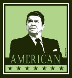 Ronald Reagan - American by Conservatoons