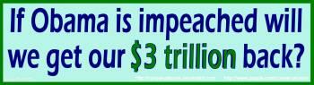 Obama Debt Bumpersticker by Conservatoons