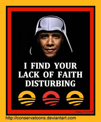 Obama 2012 Campaign Poster by Conservatoons