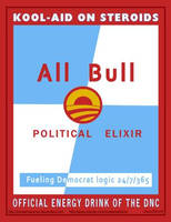 Political Energy Drink by Conservatoons