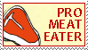Meat Eater stamp by Conservatoons