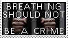 Breath Crime stamp by Conservatoons