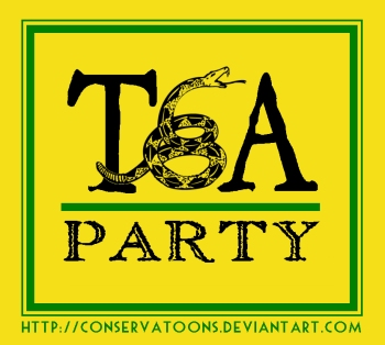 TEA Party Logo by Conservatoons