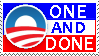 One and Done stamp by Conservatoons