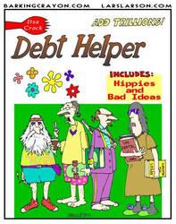 Debt Helper by Conservatoons