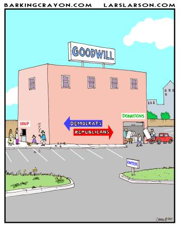 Image result for goodwill cartoon