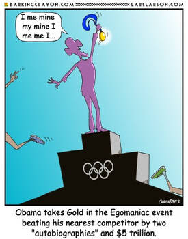 Obama the Olympian
