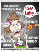 Obama the Liar cartoon by Conservatoons
