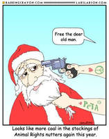 A Merry PeTA Christmas by Conservatoons