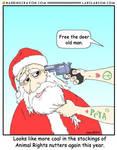 A Merry PeTA Christmas