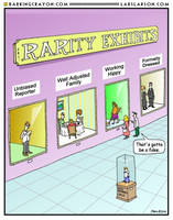Rarity Exhibit cartoon by Conservatoons