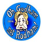 Oh Godam not Rodham button