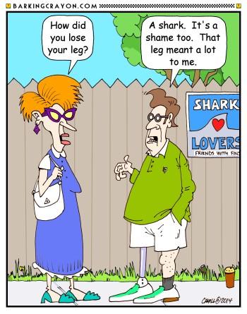 Shark Week Cartoon No 17 By Conservatoons On Deviantart