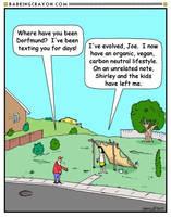 Carbon Neutrality Cartoon