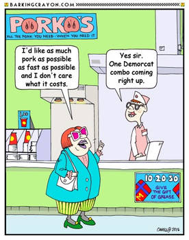 Democrat Fast Food