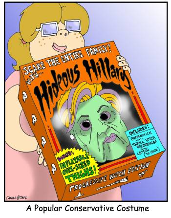 Hillary Costume by Conservatoons