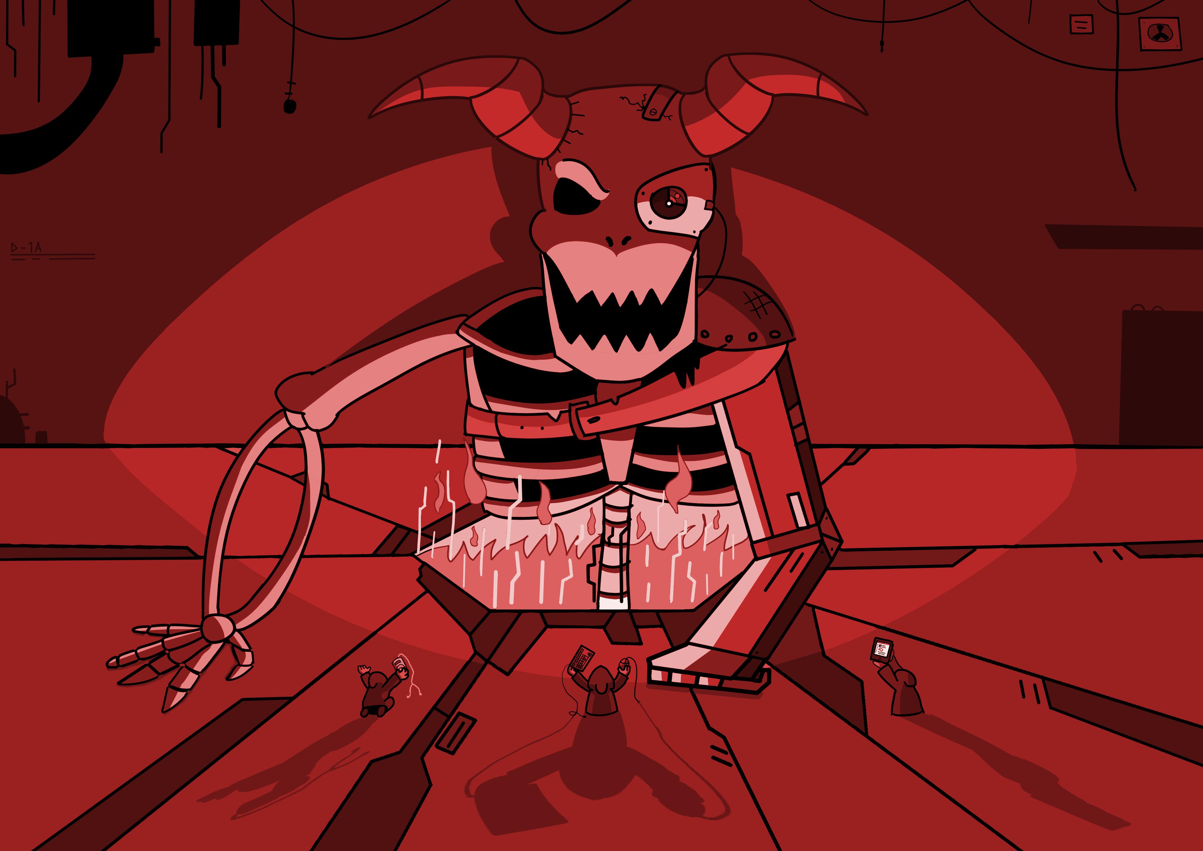 Demon by Littlenorwegians