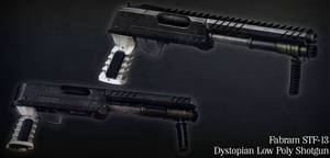 Fabram STF-13 (Dystopian Shotgun) by Littlenorwegians