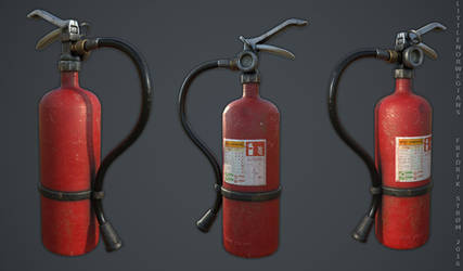 Fire Extinguisher by Littlenorwegians