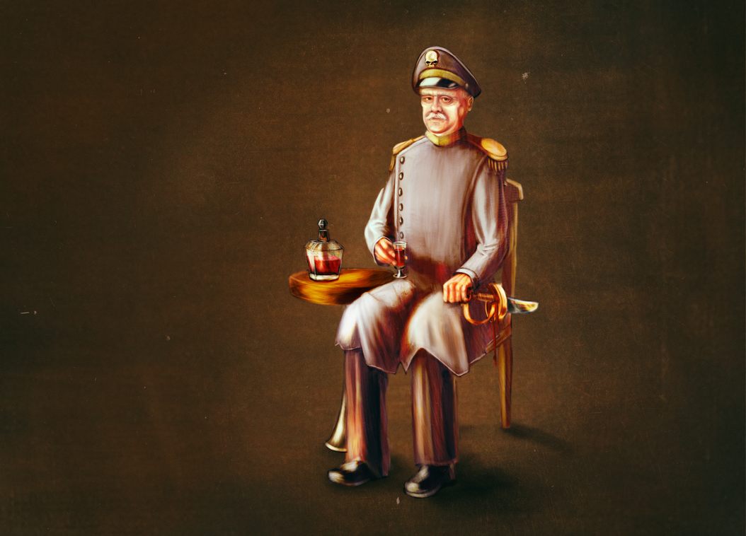 Commissar Albert Ignatius Salt by Littlenorwegians