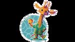Farel the Giraffe by Littlenorwegians