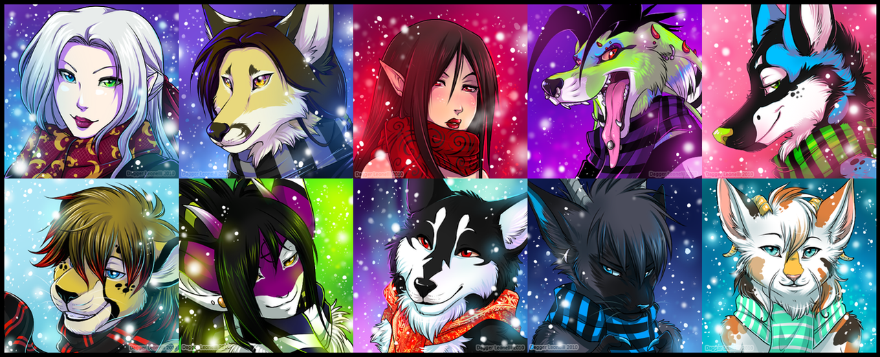 Winter Icons 2010 - Batch 1 by Majime